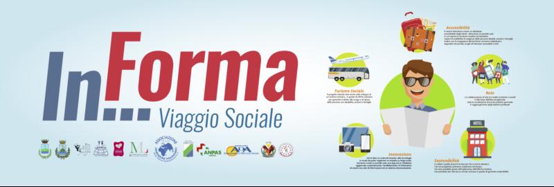 banner adv progetto In...Forma. Viaggio Sociale.